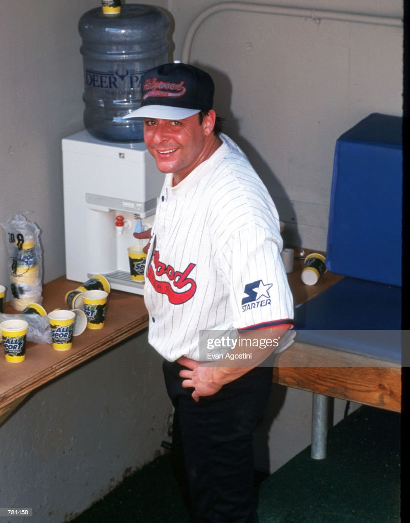 All Star Celebrity Baseball Game : News Photo