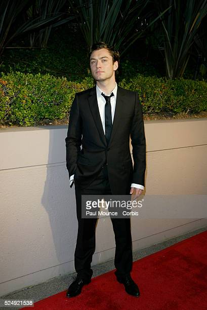 Actor Jude Law arrives at the Miramax PreOscar 2004 Max Awards party at the StRegis Hotel