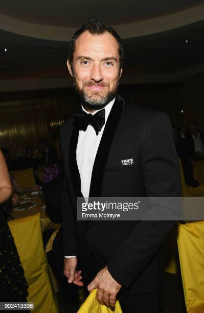 Actor Jude Law attends HBO's Official Golden Globe Awards After Party at Circa 55 Restaurant on January 7 2018 in Los Angeles California