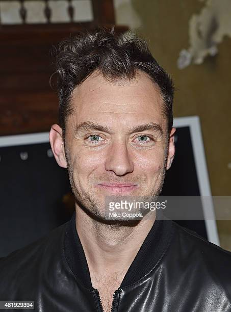 Actor Jude Law attends the 'Black Sea' New York Screening after Party at Macao on January 21 2015 in New York City