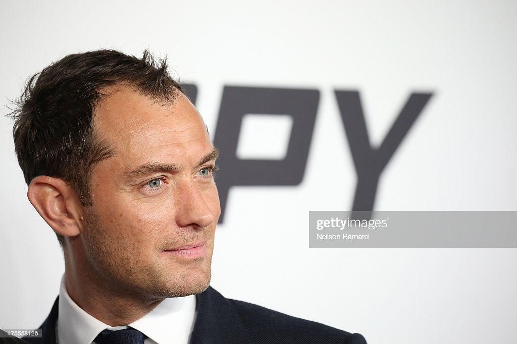 Actor Jude Law attends the 'Spy' New York Premiere at AMC Loews Lincoln Square on June 1, 2015 in New York City.