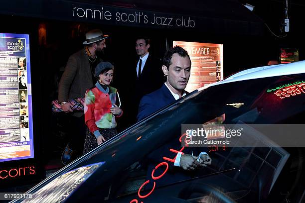 Actor Jude Law gets behind the wheel during The Life RX Live a digital first improvised 'ontheroad' livestreamed performance to celebrate the launch...