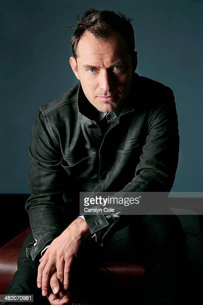 Actor Jude Law is photographed for Los Angeles Times on March 25 2014 in New York City PUBLISHED IMAGE CREDIT MUST BE Carolyn Cole/Los Angeles...