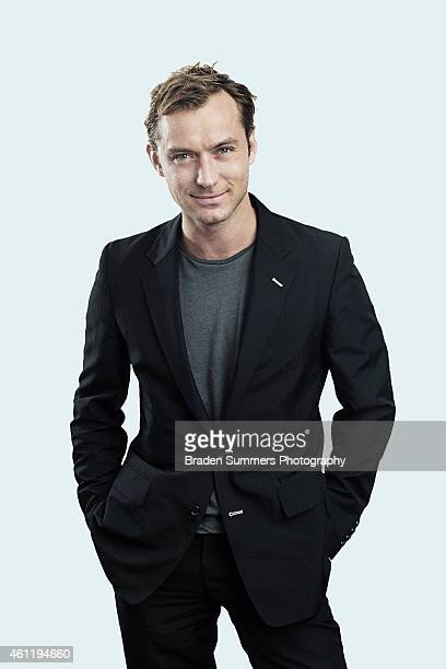 Actor Jude Law is photographed for Self Assignment on May 6 2010 in San Francisco California