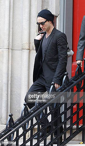 Actor Jude Law is seen on the streets of Manhattan on December 6 2009 in New York City