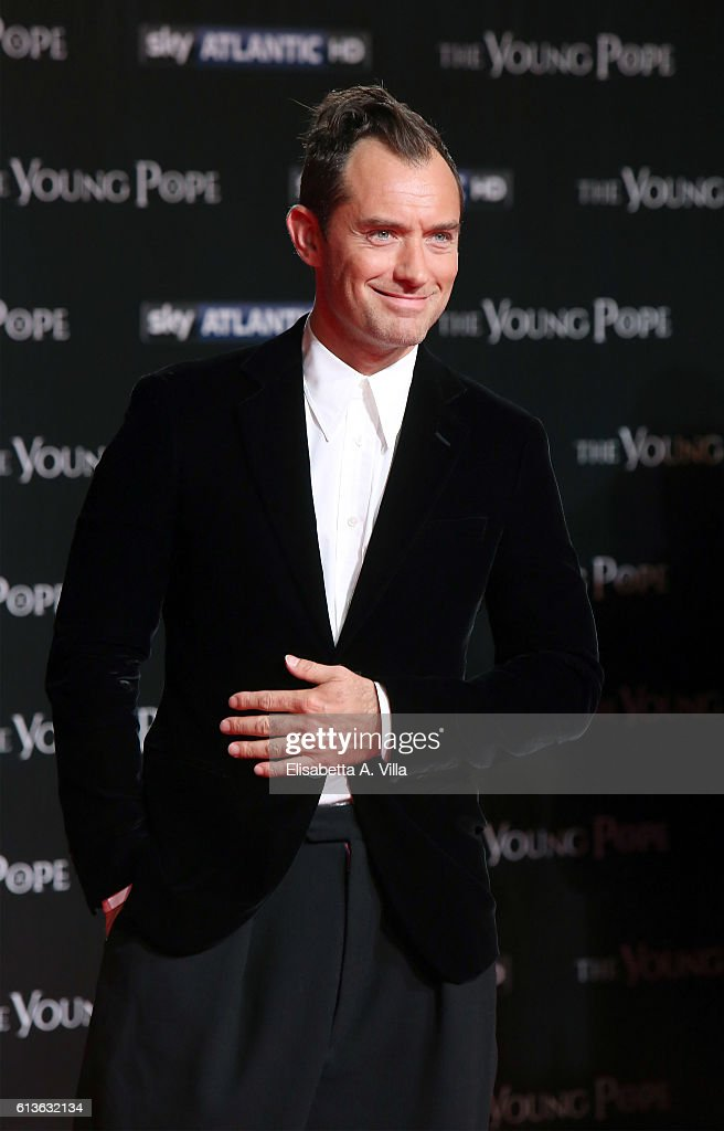 'The Young Pope' Premiere In Rome : News Photo