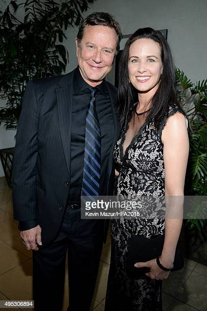 Actor Judge Reinhold and screenwriter Amy Reinhold attend the 19th Annual Hollywood Film Awards at The Beverly Hilton Hotel on November 1 2015 in...