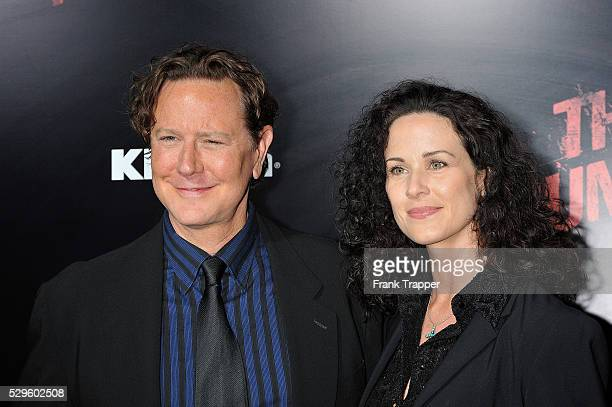 Actor Judge Reinhold and wife Amy arrive at the premiere of 'The Runaways' held at the Cinerama Dome Theater