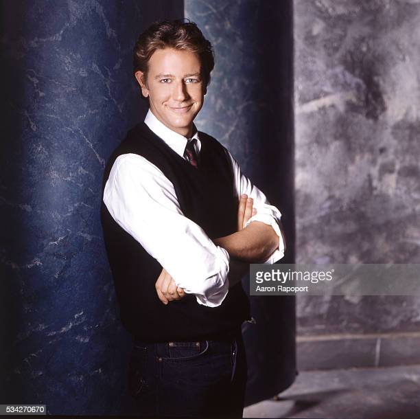 Actor Judge Reinhold poses in Los Angeles Californiia in 1985