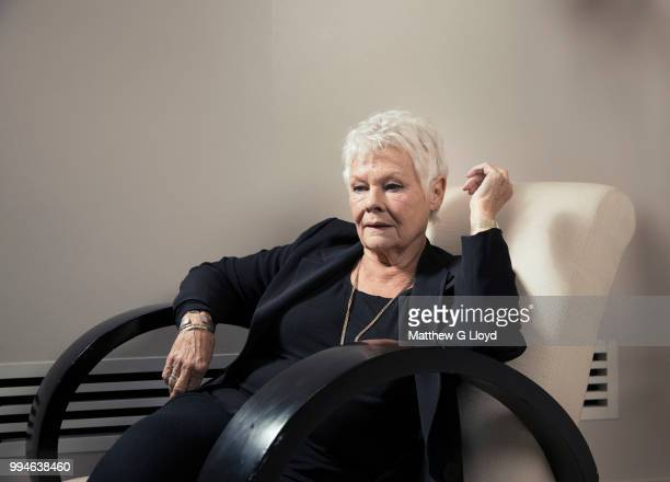 Actor Judi Dench is photographed for Los Angeles Times on October 22 2013 in London England