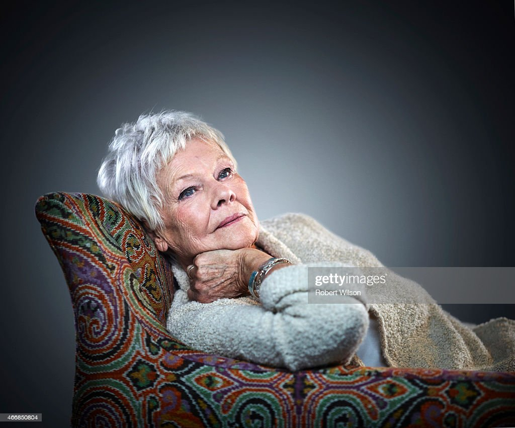 Judi Dench, Times UK, December 6, 2014 : News Photo