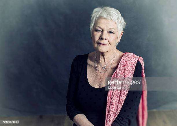 Actor Judi Dench is photographed on April 12 2015 in London England