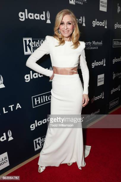 Actor Judith Light attends the 28th Annual GLAAD Media Awards in LA at The Beverly Hilton Hotel on April 1 2017 in Beverly Hills California