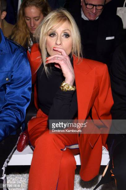 Actor Judith Light attends the Calvin Klein Collection front row during New York Fashion Week at New York Stock Exchange on February 13 2018 in New...