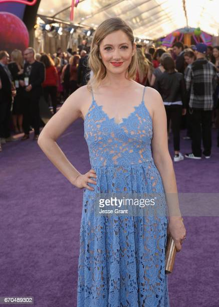 """Actor Judy Greer at The World Premiere of Marvel Studios' """"Guardians of the Galaxy Vol 2"""" at Dolby Theatre in Hollywood CA April 19th 2017"""
