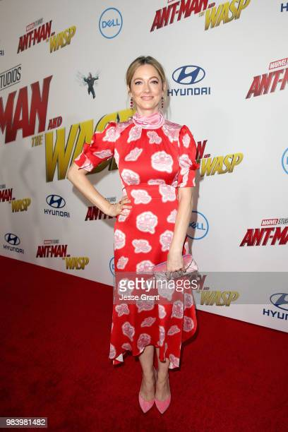 Actor Judy Greer attends the Los Angeles Global Premiere for Marvel Studios' AntMan And The Wasp at the El Capitan Theatre on June 25 2018 in...
