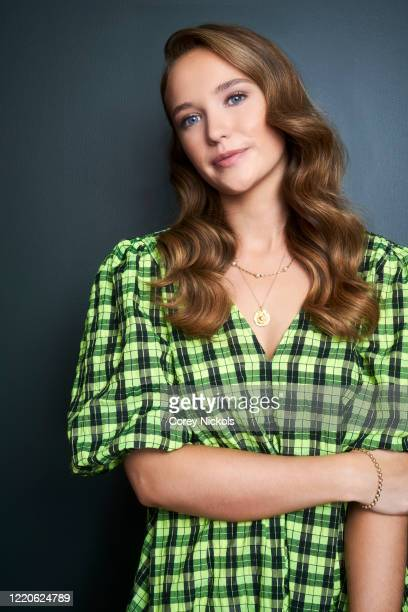 Actor Julia Brown is photographed for TV Guide magazine on January 10, 2020 in Pasadena, California.