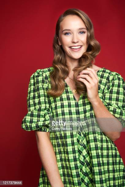 Actor Julia Brown is photographed for TV Guide magazine on January 9, 2020 in Pasadena, California.
