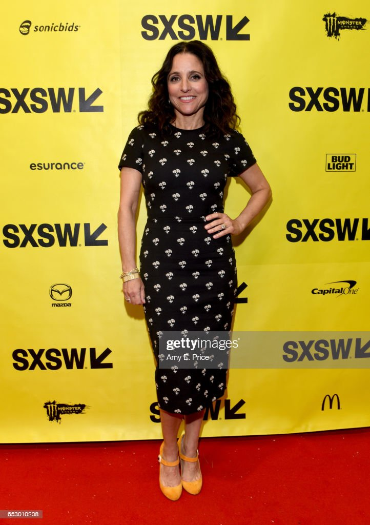 Actor Julia Louis-Dreyfus attends 'Featured Session: 'VEEP' Cast' during 2017 SXSW Conference and Festivals at Austin Convention Center on March 13, 2017 in Austin, Texas.