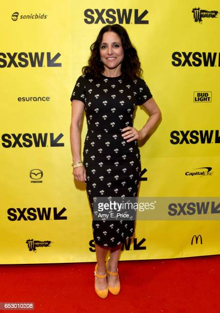 Actor Julia LouisDreyfus attends 'Featured Session 'VEEP' Cast' during 2017 SXSW Conference and Festivals at Austin Convention Center on March 13...
