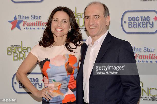 World S Best Julia Louis Dreyfus Brunch 3 May 2014 Stock