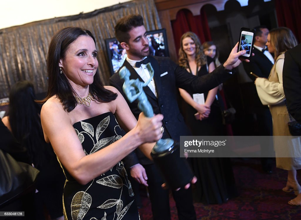 Actor Julia Louis-Dreyfus attends The 23rd Annual Screen Actors Guild Awards at The Shrine Auditorium on January 29, 2017 in Los Angeles, California. 26592_016