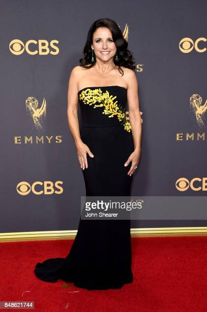 Actor Julia LouisDreyfus attends the 69th Annual Primetime Emmy Awards at Microsoft Theater on September 17 2017 in Los Angeles California