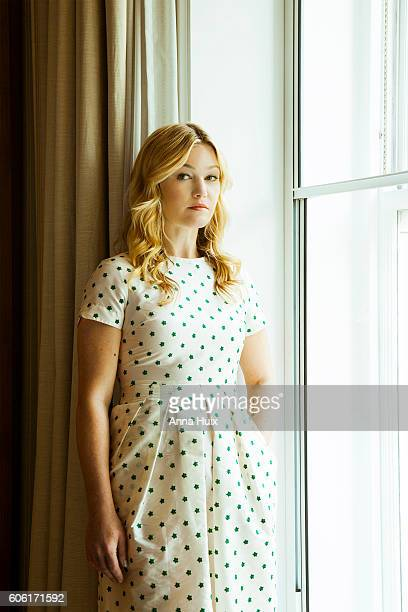 Actor Julia Stiles is photographed for the Telegraph on July 11 2016 in London England