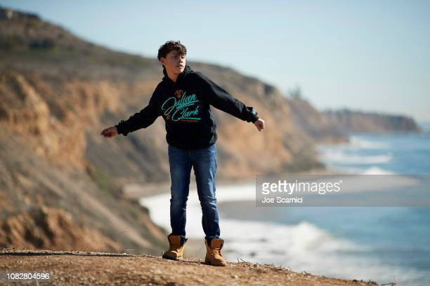 Actor Julian Clark poses for a portrait on December 8 2018 in Los Angeles California