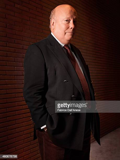 Actor Julian Fellowes is photographed for Vanity Fair Italy on November 10 2013 in Rome at the Rome Film Festival Italy