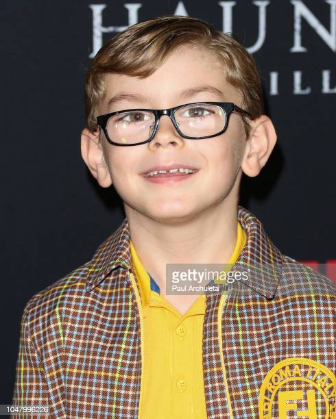 Actor Julian Hilliard attends Netflix's The Haunting Of Hill House season 1 premiere at ArcLight Hollywood on October 8 2018 in Hollywood California