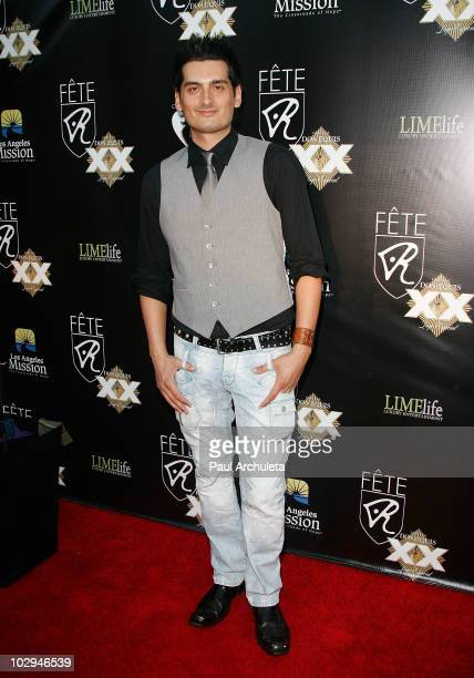 Actor Julian Jordan arrives at the 2010 HollyShorts film festival - FETE Networking Event at The Kress on July 16, 2010 in Hollywood, California.