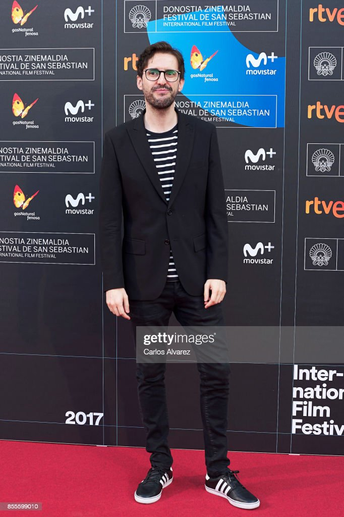Actor Julian Lopez on the red carpet for the premiere of the Netflix Film 'Fe De Etarras' at San Sebastian International Film Festival 2017 on September 29, 2017 in San Sebastian, Spain.