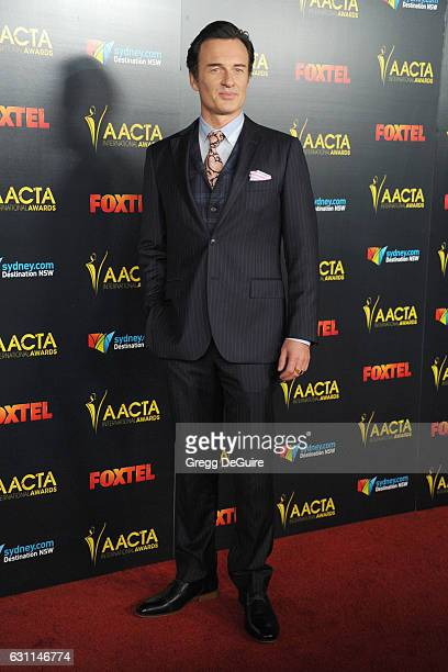 Actor Julian McMahon arrives at the 6th AACTA International Awards at Avalon Hollywood on January 6 2017 in Los Angeles California