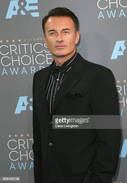 MONICA CA JANUARY Actor Julian McMahon attends The 21st Annual Critics' Choice Awards at Barker Hangar on January 17 2016 in Santa Monica California