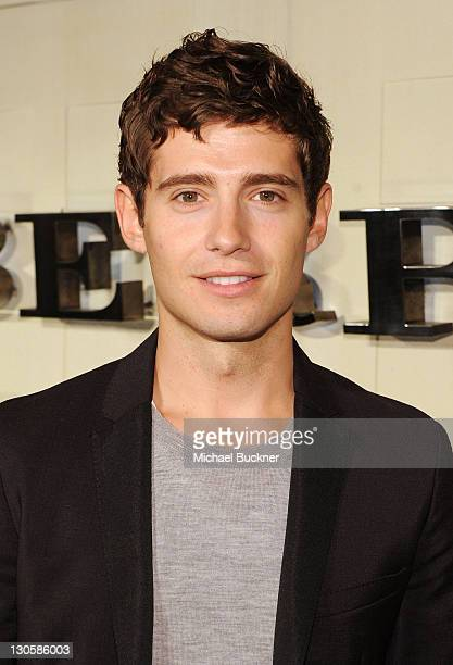 Actor Julian Morris arrives at the Burberry Body Event hosted by Christopher Bailey and Rosie HuntingtonWhiteley held at Burberry Beverly Hills on...
