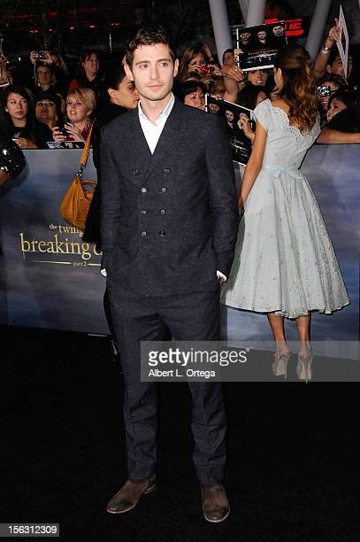 Actor Julian Morris arrives at the Premiere Of Summit Entertainment's 'The Twilight Saga Breaking Dawn Part 2' Arrivals held at Nokia Theatre LA Live...