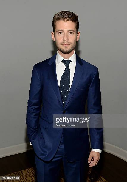 Actor Julian Morris attends James Corden Vanity Fair And Burberry Celebrate The 2015 British Academy BAFTA Los Angeles Britannia Awards on October 29...