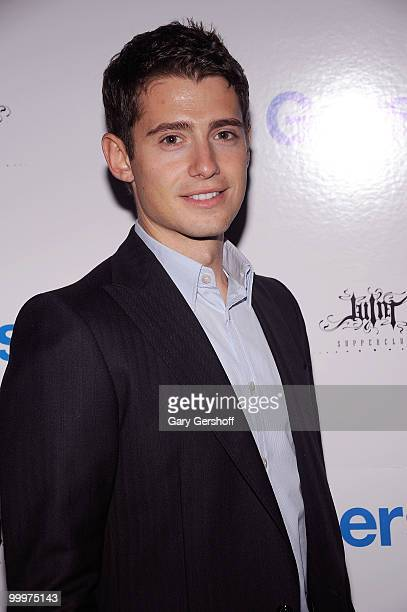 Actor Julian Morris attends the Gersh Agency's 2010 UpFronts and Broadway season cocktail celebration at Juliet Supper Club on May 18 2010 in New...