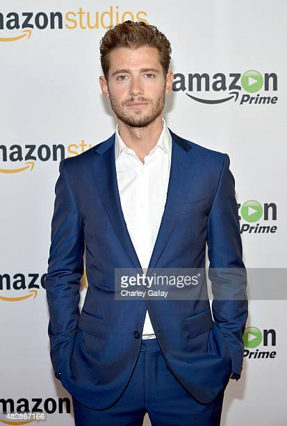 Actor Julian Morris attends the 'Hand Of God' panel discussion at the Amazon Studios portion of the 2015 Summer TCA Tour on August 3 2015 in Beverly...