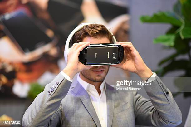 "Actor Julian Morris of ""Hand of God"" attends The Getty Images Portrait Studio powered by Samsung Galaxy At ComicCon International 2015 at Hard Rock..."