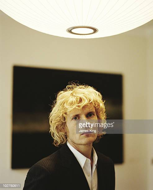Actor Julian Rhind Tutt poses for a portrait shoot in London UK