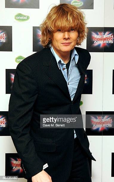 Actor Julian RhindTutt arrives at the British Comedy Awards 2005 at London Television Studios on December 14 2005 in London England
