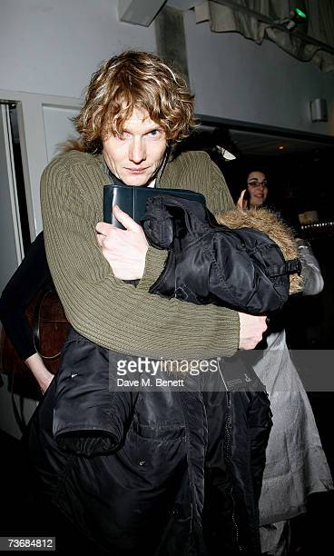 Actor Julian RhindTutt attends the a fundraiser party for the Almeida Theatre at the Almeida Theatre on March 23 2007 in London England