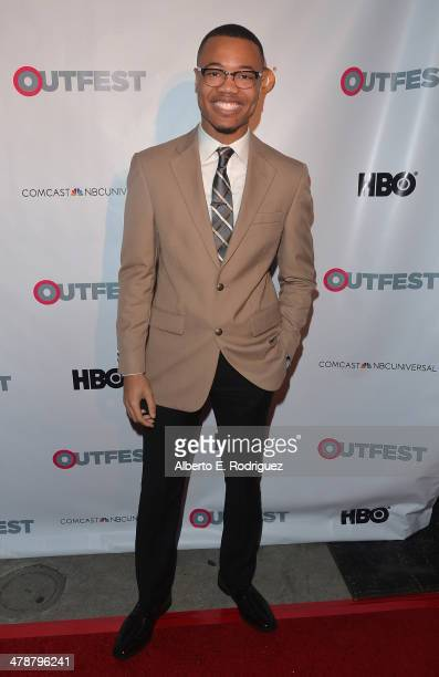 """Actor Julian Walker arrives to the Outfest Fusion LGBT People of Color Film Fetival Opening Night Screening of """"Blackbird"""" at the Egyptian Theatre on..."""