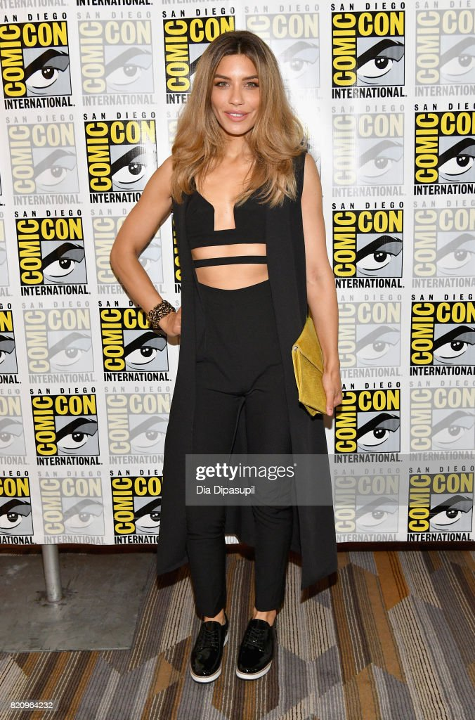 Actor Juliana Harkavy at the 'Arrow' Press Line during Comic-Con International 2017 at Hilton Bayfront on July 22, 2017 in San Diego, California.