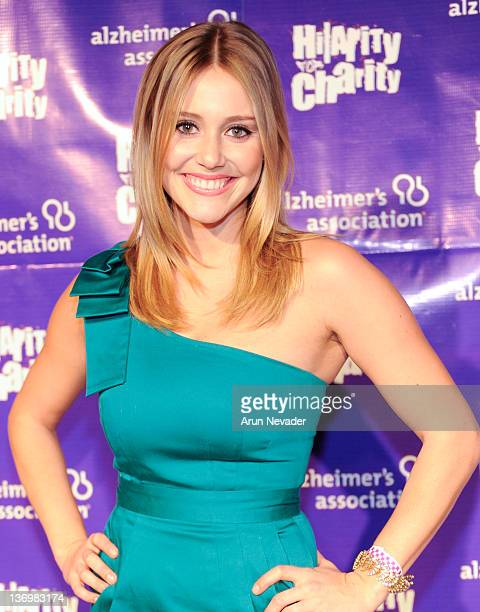 Actor Julianna Guill attends the 1st Annual Hilarity For Charity Benefiting The Alzheimer's Association at Vibiana on January 13 2012 in Los Angeles...