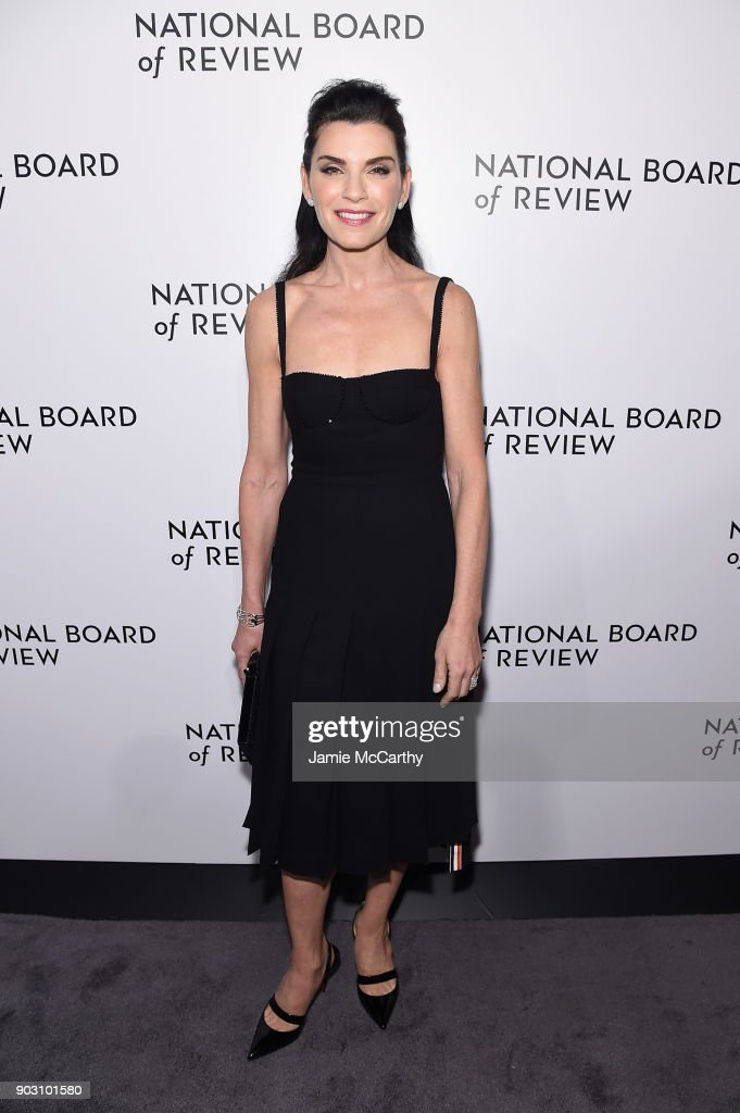Actor Julianna Margulies attends the The National Board Of Review Annual Awards Gala at Cipriani 42nd Street on January 9, 2018 in New York City.