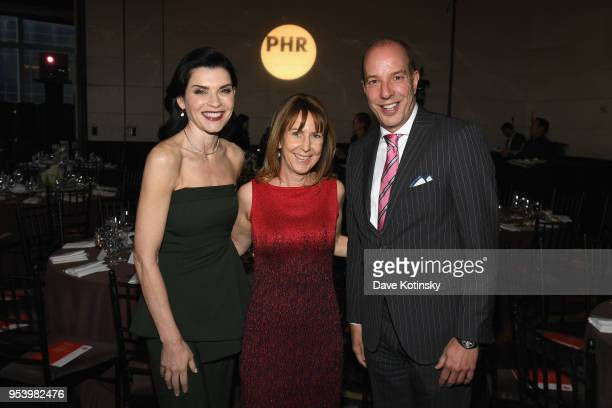 Actor Julianna Margulies Physicians for Human Rights Executive Director Donna McKay and American Civil Liberties Union Executive Director Anthony D...