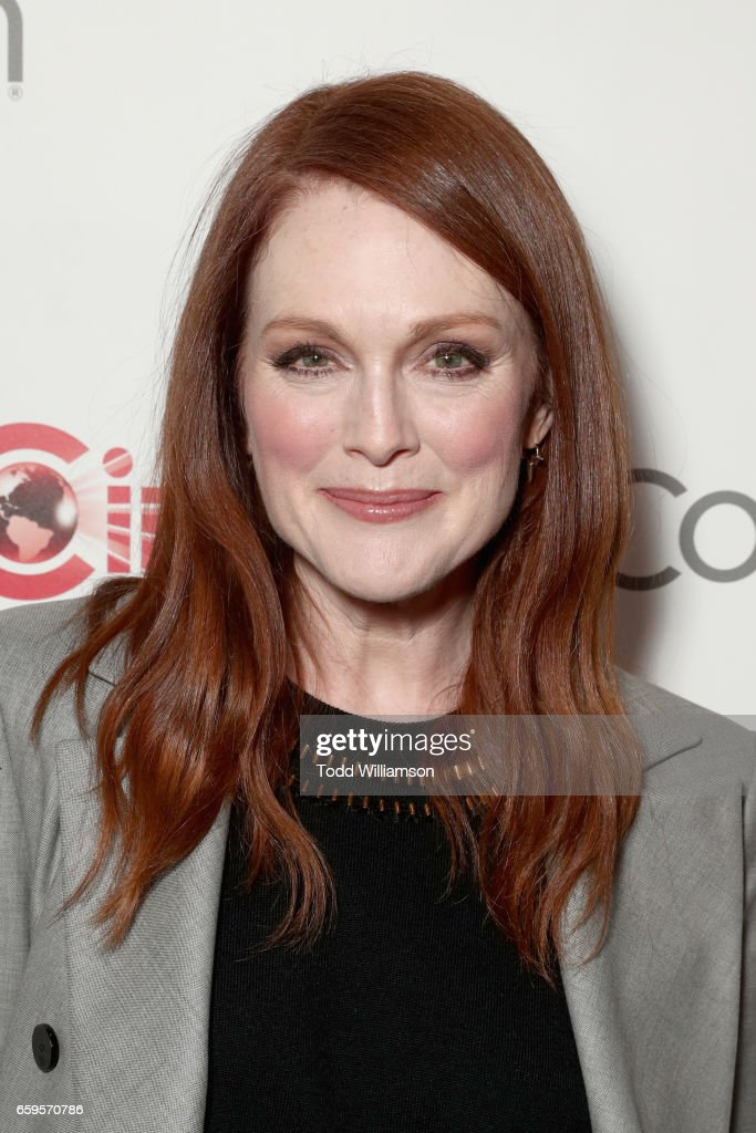 Actor Julianne Moore at CinemaCon 2017 Paramount Pictures Presentation Highlighting Its Summer of 2017 and Beyond at The Colosseum at Caesars Palace during CinemaCon, the official convention of the National Association of Theatre Owners, on March 28, 2017 in Las Vegas, Nevada.
